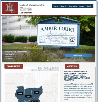 Landmark Management Inc Home Page